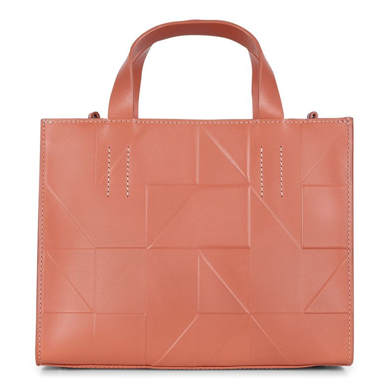 Geometrik Mini Hbag (Orange)