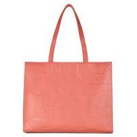 Geometrik Shopper (Orange)