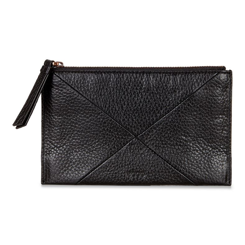 Linnea Pouch Wallet (Black)