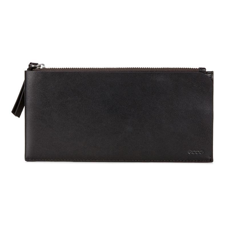 Geometrik Travel Wallet (Black)