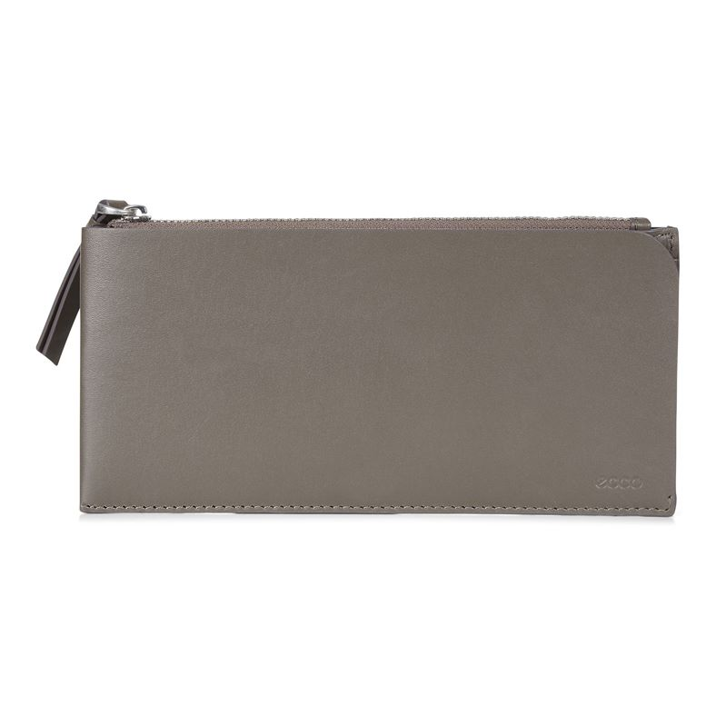 Geometrik Travel Wallet (Grey)