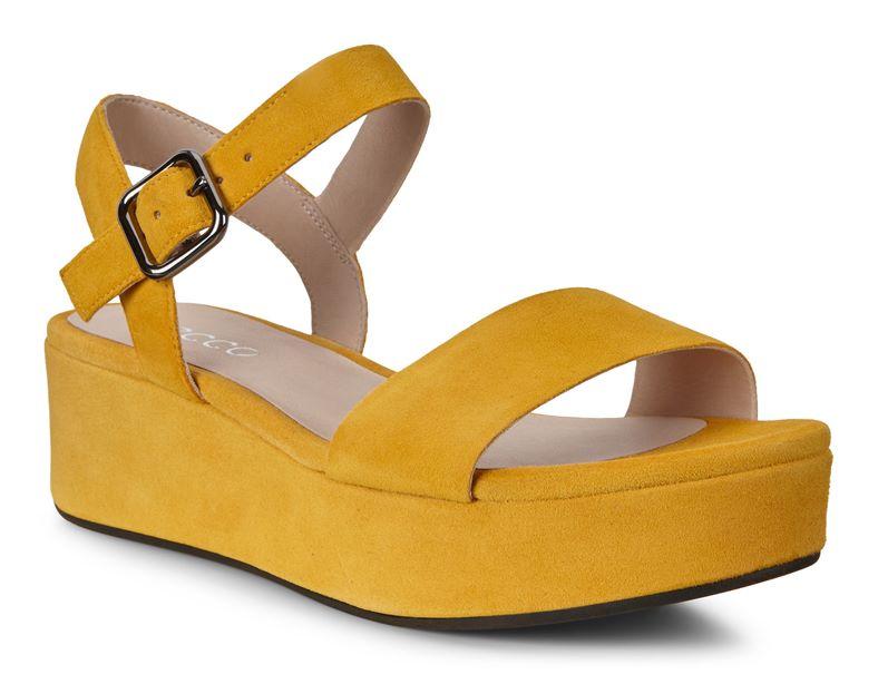 ELEVATE PLATEAU SANDAL (Yellow)