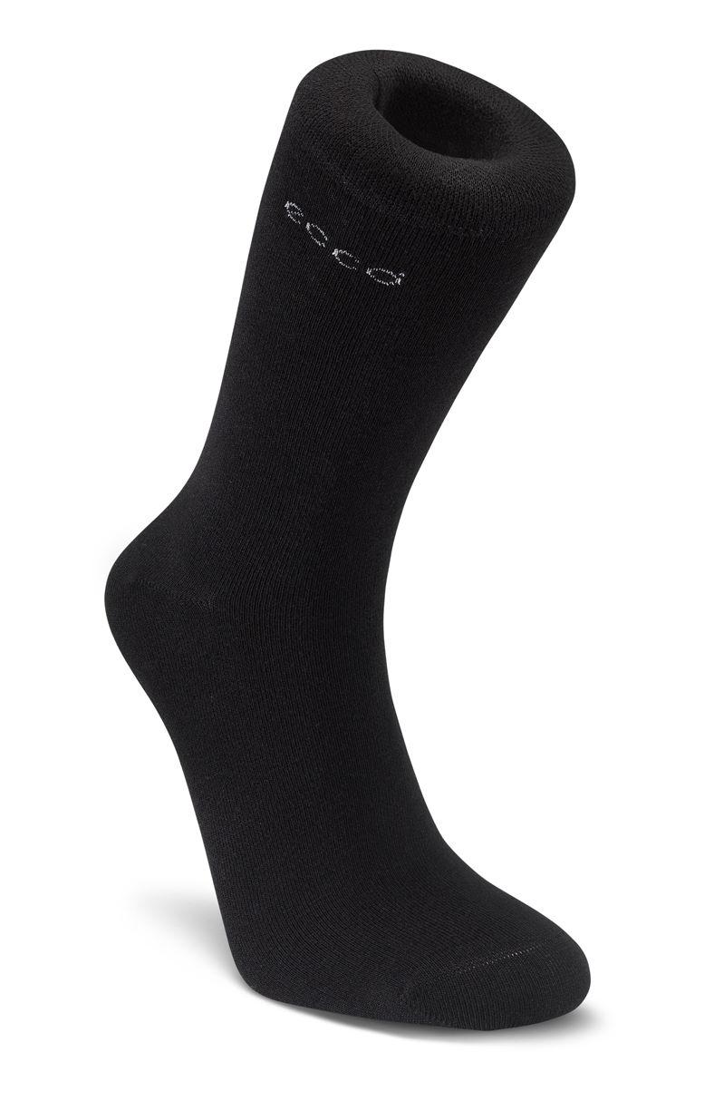 Soft Touch Crew Sock (Black)