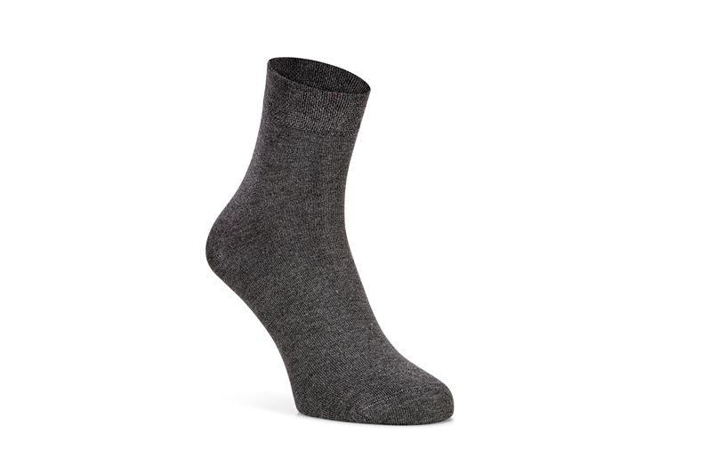 Soft Touch Quarter Sock (Grey)