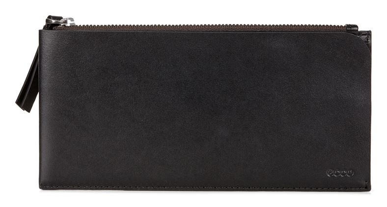 Geometrik Travel Wallet (Black)